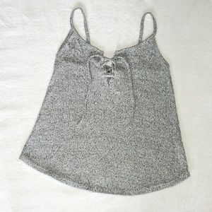 Forever 21 Gray Tank Top S